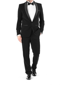 Black tie dress code